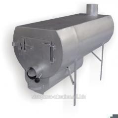 The furnace for heating of rooms and cooking of
