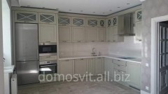 Кухонные наборы из натурального дерева, приобрести кухни в Киеве