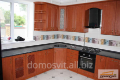 The full complete set of furniture kitchen,