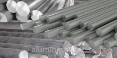 Aluminum bars 20-24 TK3, diameter 20-250
