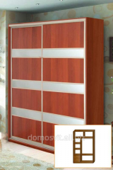 Model 2 (with 2 facades) to get sliding wardrobes