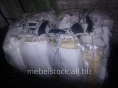 Waste of foam rubber, foam rubber cutting,