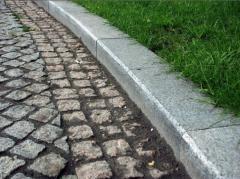 Borders are sidewalk, Zhytomyr