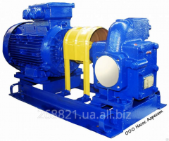 The pump Sh 80/4-37/6 gear for pumping of oil,