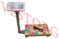 Scales electronic OXI commodity 150 kg floor