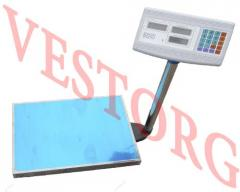Scales electronic commodity 300 kg floor