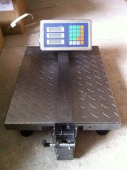 Scales electronic TCS-K commodity 300 kg floor