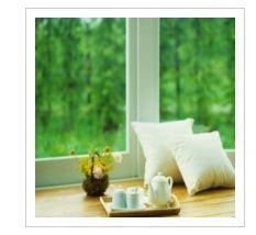 Window polyvinylchloride Stek