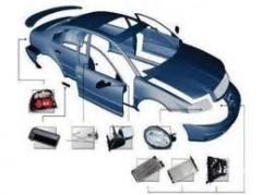 Body spare parts on foreign cars: second-hand,