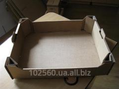 Ящики для фруктов из пятислойного гофрокартона