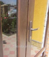 Doors entrance glass Stek