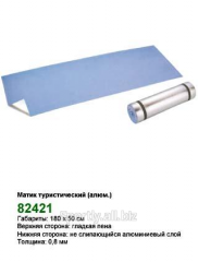 Aluminum a tourist mat, matik 82421, rugs for
