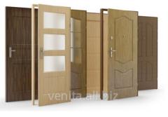 Doors interroom shponirovanny Stek