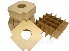 Решетки из картона для транспортировки хрупких и