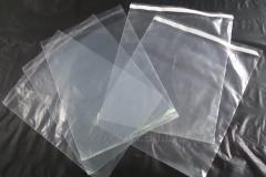 Packages polypropylene with an adhesive tape.