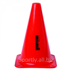 Red razmetochny cone sports to get cones for a