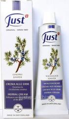 Cream Juniper of 100 ml. Just YuST