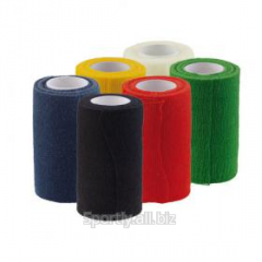 Elastic roller of TAPE (white), bandage for