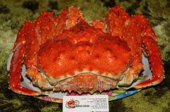 Crab Royal whole frozen-cooked 2-5kg