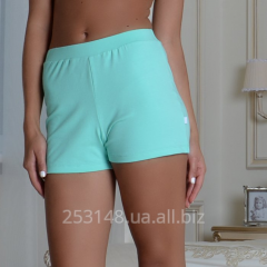 Women's shorts classical, mint, size S