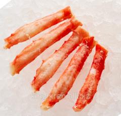 Мясо краба Камчатского 2я фаланга без глазури экстра