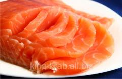 Семга норвежская филе 1,8-2кг холодного копчения