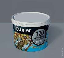 Acrylic soil-paint with a quartz filler of AKURAT