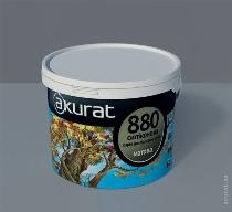Front silicone paint opaque AKURAT 880
