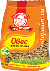 Oats of wholegrain, 200 g