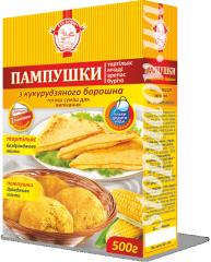 Pampushkas from corn flour