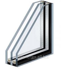 Double-glazed window two-chamber 4-10-4-10-4 (32
