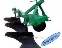 PNB 3-35 plow on high racks with the strengthened