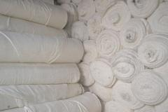 The cloth nonwoven 100% x/, width is 150 cm.