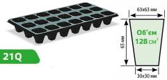Cartridges for seedling 21 cell (21Q), the