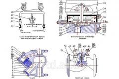 Уплотнение выхлопных клапанов дутьевого клапана отделителя и переходников камеры 8БП.372.542