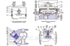 Уплотнение присоединения резервуара к фланцу отделителя 5-8АИ.372.445