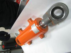The hydraulic cylinders, hydraulic cylinders completing for production of hydraulic cylinders.