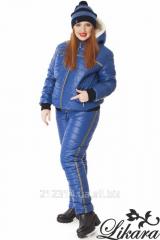 Зимний женский костюм на меху больших размеров (4