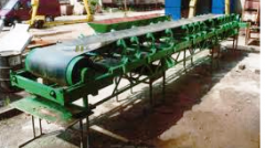 Conveyor of tape from 5 to 50 t/hour