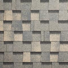 Bituminous tile of Shinglas of the Indigo Jazz