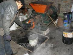 Пресс-экструдер винтовой 1 т/час 22 кВт