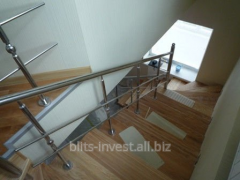 Ladder protection from stainless steel