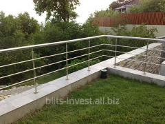 Barriers for balconies and terass