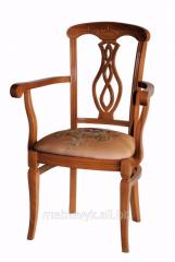 """Стулья из натурального дерева - кресло """"Неаполь"""""""