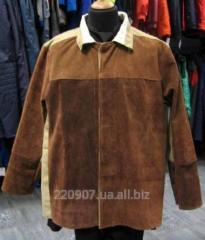 Suit of the sandblaster, welder trousers + jacke