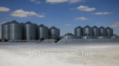 Silo with a flat bottom of BBCA Storex
