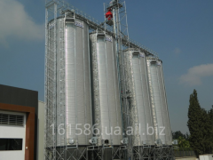 Silo with a conical bottom of BBCA Storex