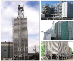 Rectangular ALTINBILEK silo for storage, mixing