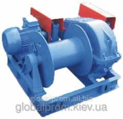Winch electric assembly and traction LM-8, LM-8A,