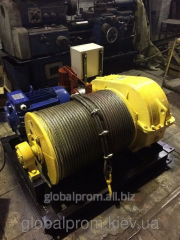 The winch electric assembly and traction LM (to 5